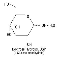 Dextrose Hydrous Structural Formula