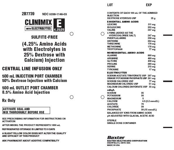 Clinimix E Representative Container Label 0338-1146