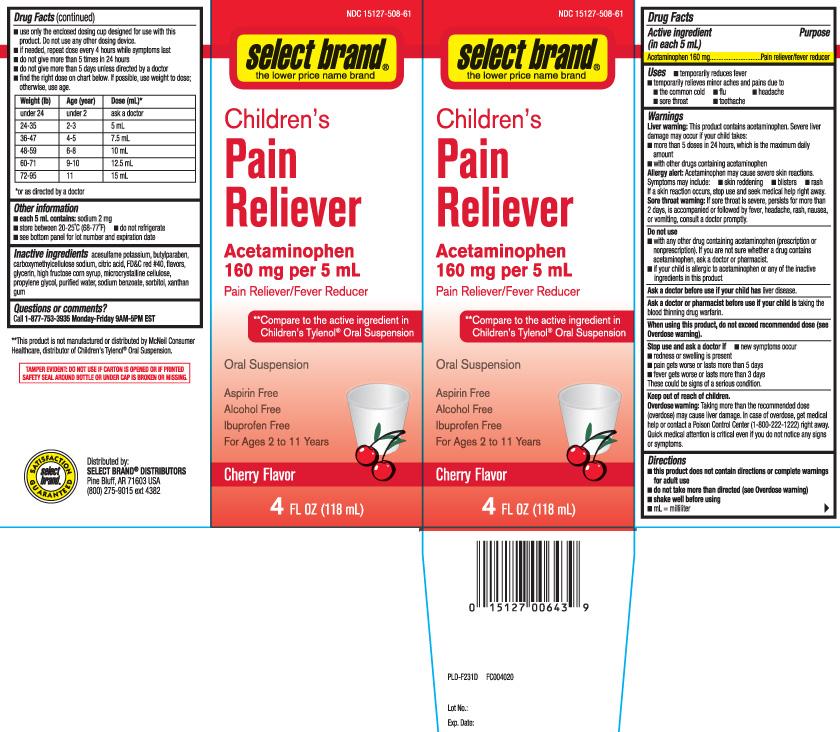 Acetaminophen 160 mg