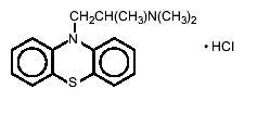 Structured product formula for Promethazine
