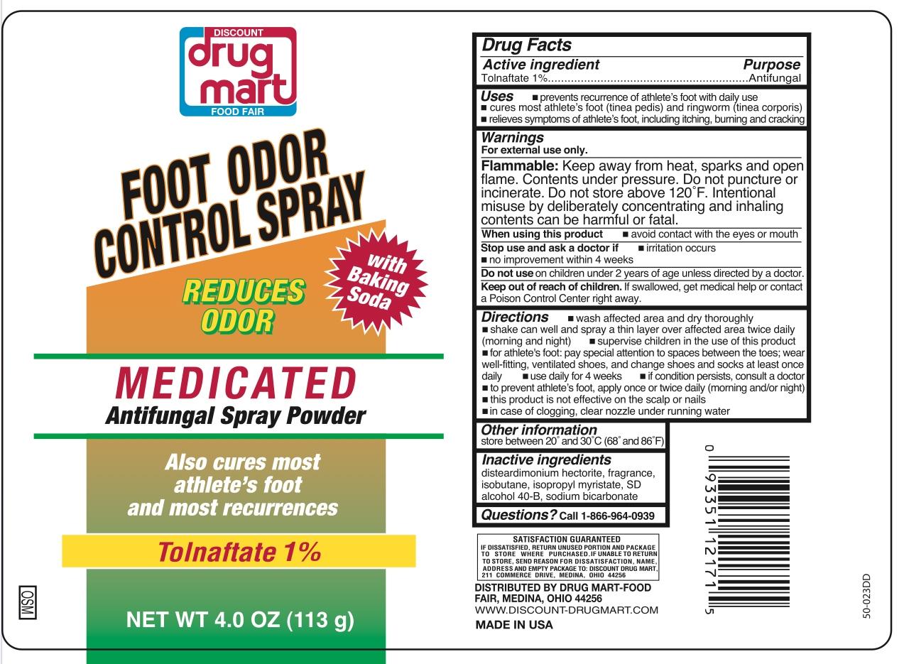 Discount Drug Mart Foot Odor Control Spray