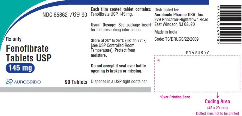 PACKAGE LABEL-PRINCIPAL DISPLAY PANEL - 145 mg (90 Tablet Bottle)