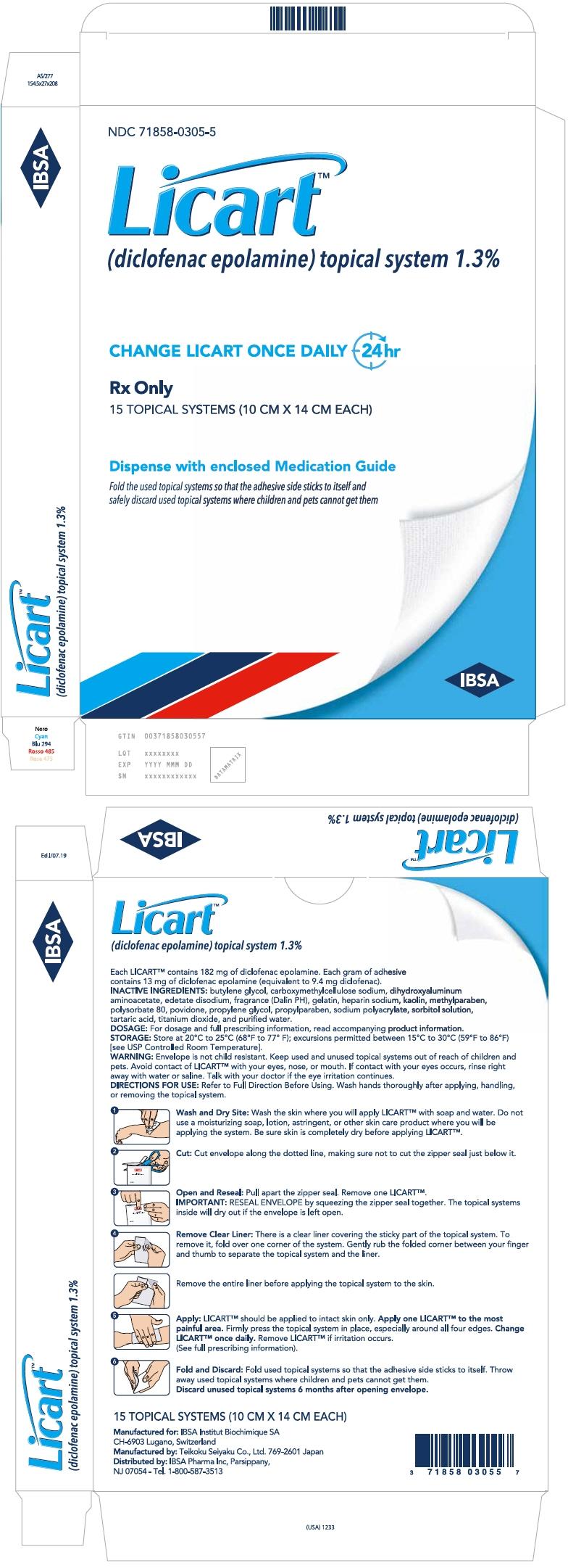 PRINCIPAL DISPLAY PANEL - 15 Patch Carton