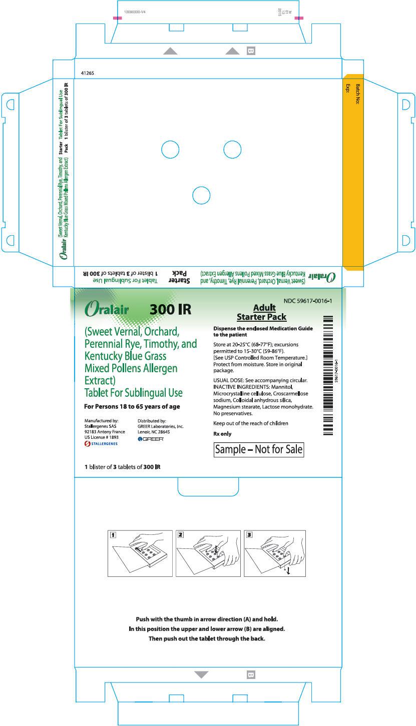 PRINCIPAL DISPLAY PANEL - 300 IR 3 Tablet Blister Pack Box