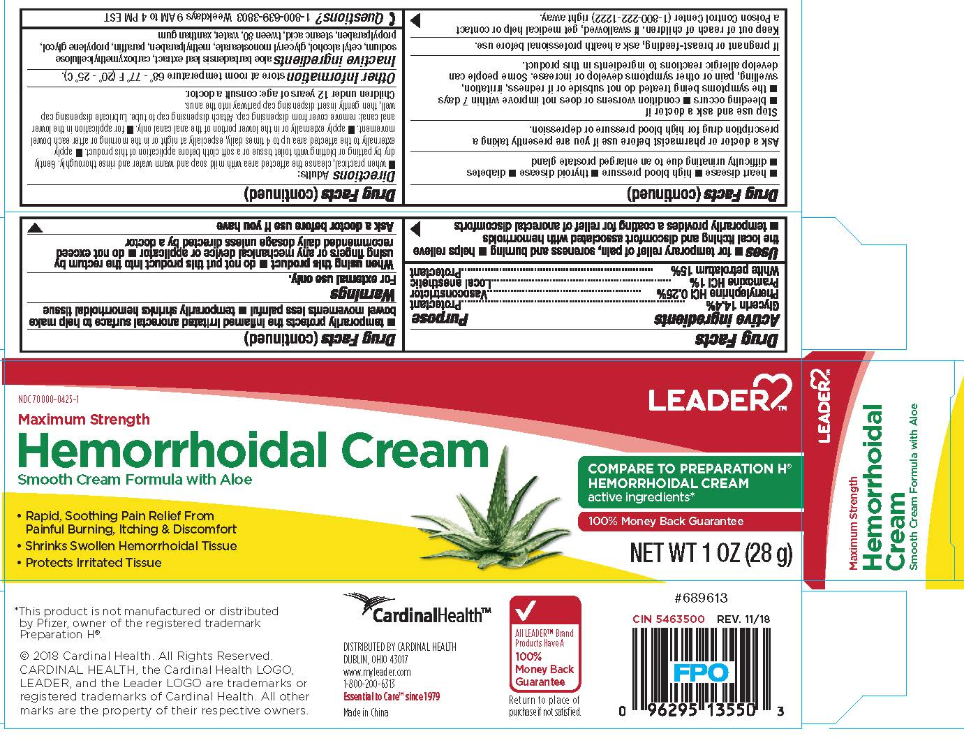 Hemorrhoidal Cream Package