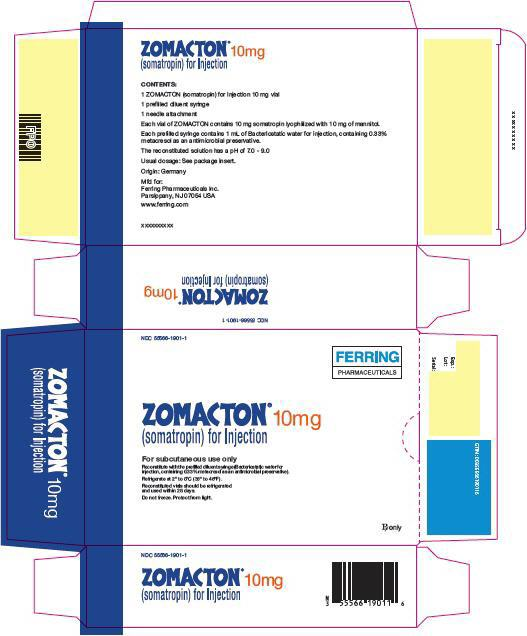 Principal Display Panel - 10 mg Kit Carton - 1901