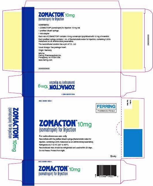 Principal Display Panel - 10 mg Kit Carton - 1902