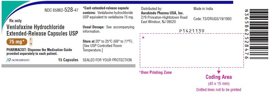 PACKAGE LABEL-PRINCIPAL DISPLAY PANEL -75 mg (15 Capsule Bottle)