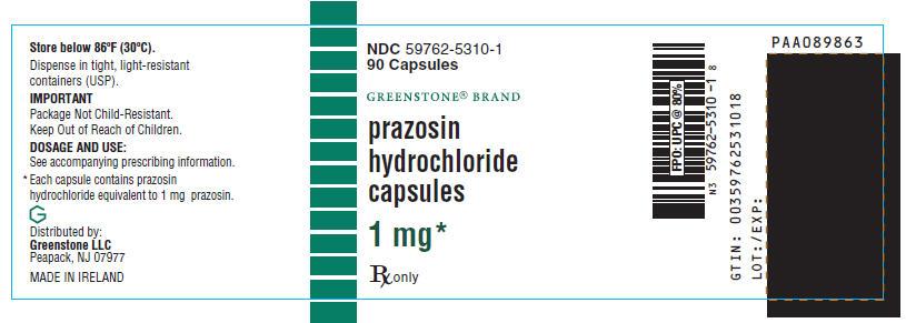 PRINCIPAL DISPLAY PANEL - 1 mg Bottle Label