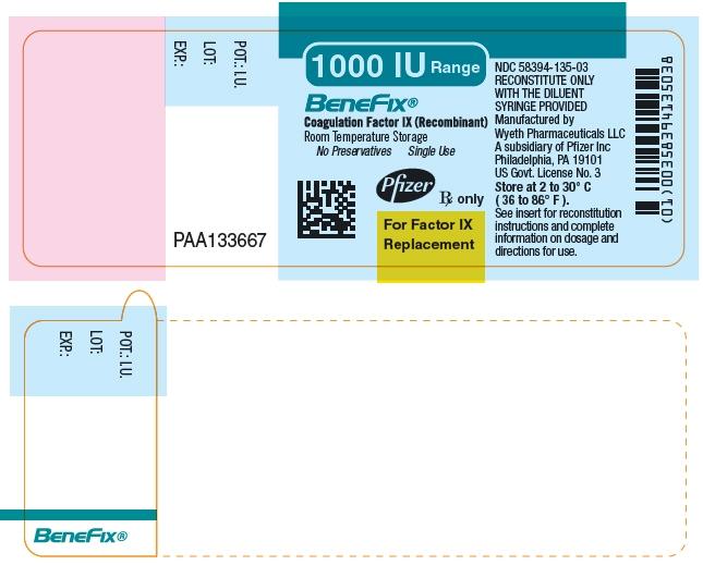 Principal Display Panel - 1000 IU Vial Label