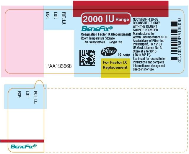 Principal Display Panel - 2000 IU Vial Label