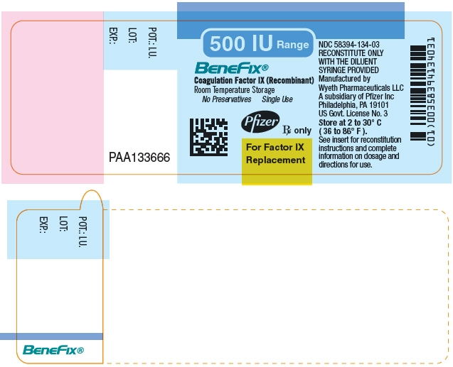 Principal Display Panel - 500 IU Vial Label