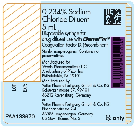 Principal Display Panel - 5 mL Syringe Label - Kit 58394-634