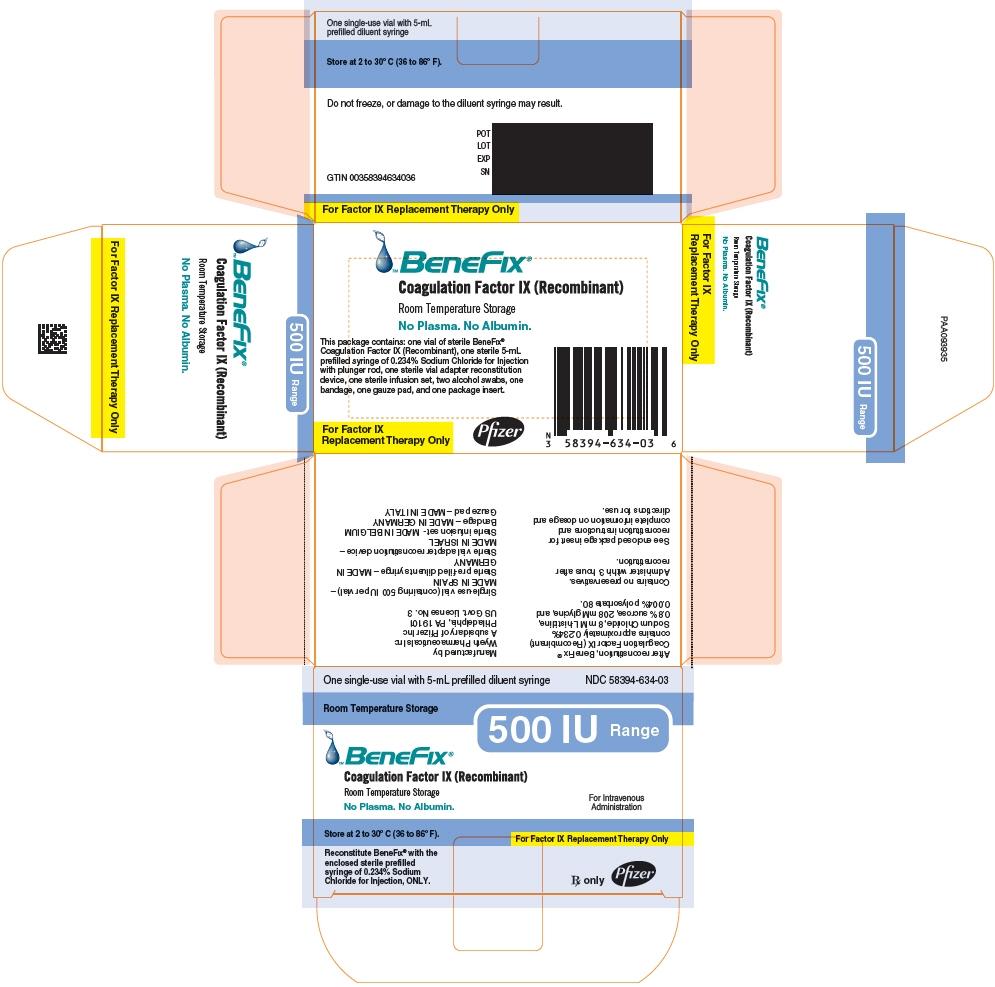 PRINCIPAL DISPLAY PANEL - 500 IU Kit Carton