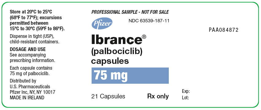 PRINCIPAL DISPLAY PANEL - 75 mg Capsule Bottle Label