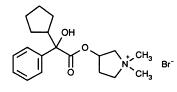 glycopyrrolate structural formula