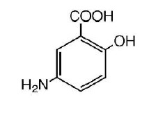 Mesalamine Structural Formula