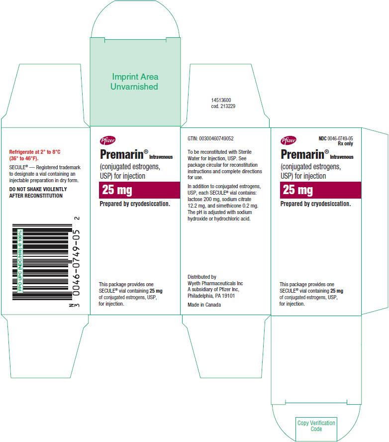PRINCIPAL DISPLAY PANEL - 25 mg Vial Carton