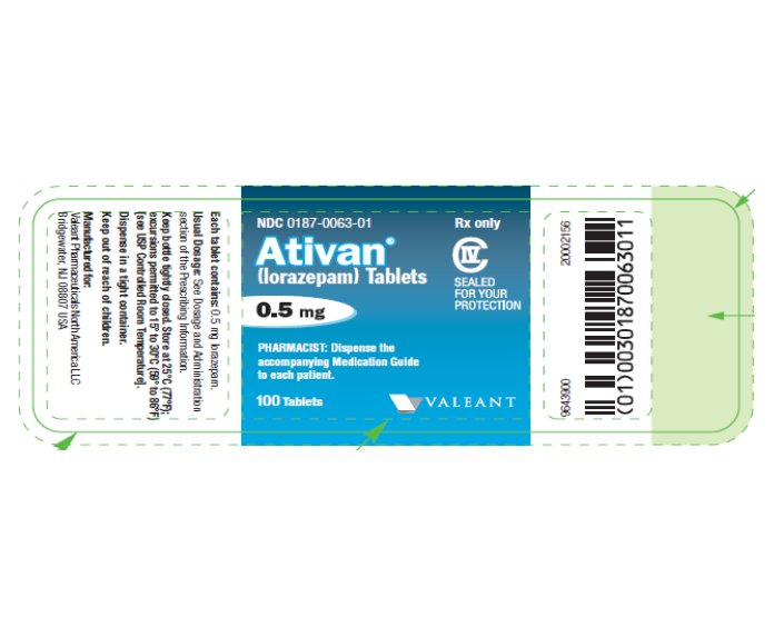 ATIVAN .5MG