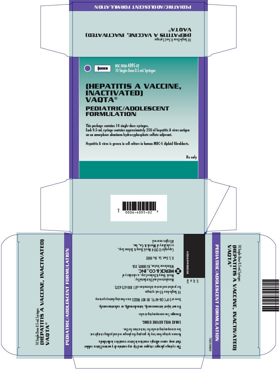 PRINCIPAL DISPLAY PANEL - 0.5 mL Syringe Carton