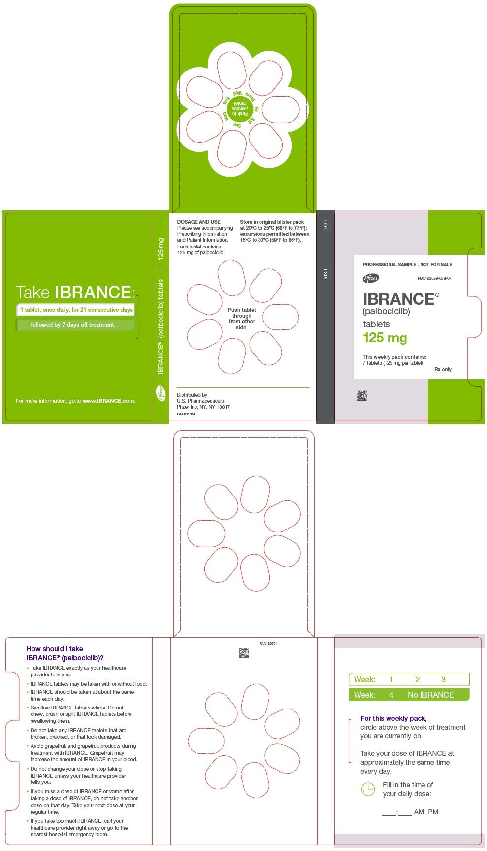 PRINCIPAL DISPLAY PANEL - 125 mg Tablet Dose Pack