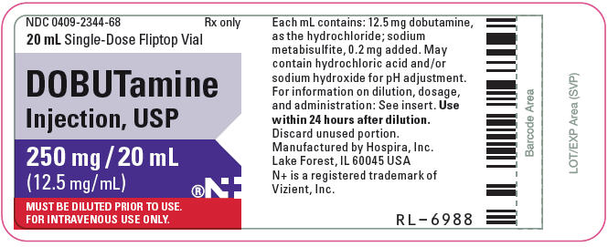 PRINCIPAL DISPLAY PANEL - 20 mL Vial Label