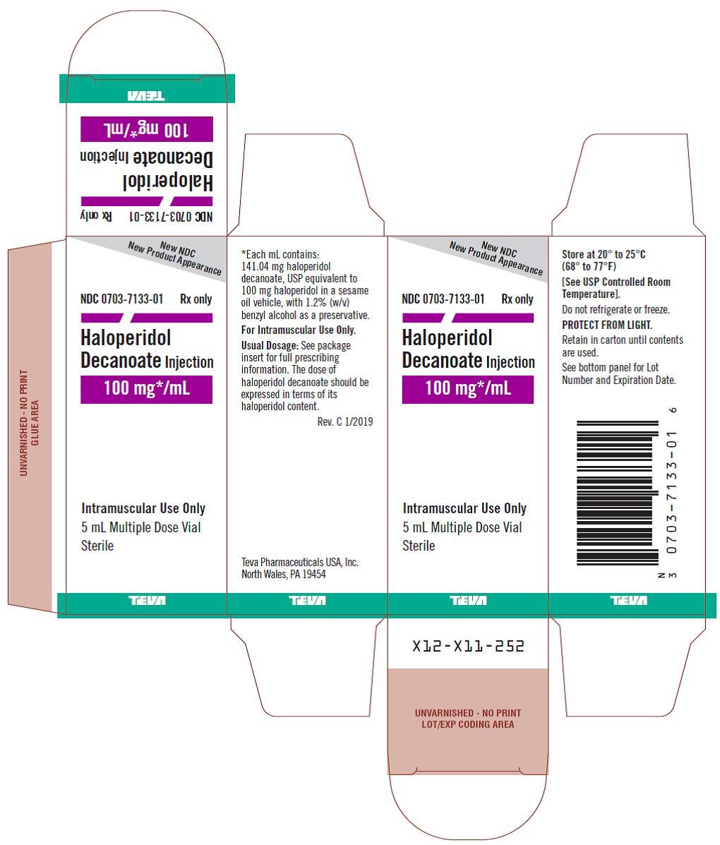 0703-7133-01 100 mg/mL Multiple Dose Vial Carton