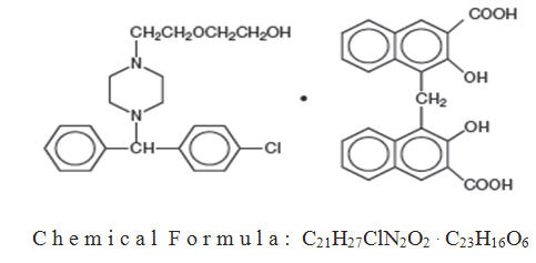 chemical structure and chemical formula