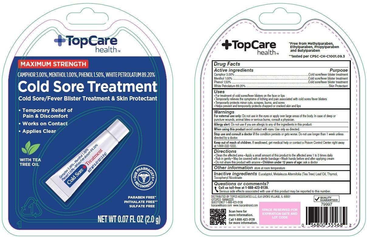 Topcare Cold Sore Treatment