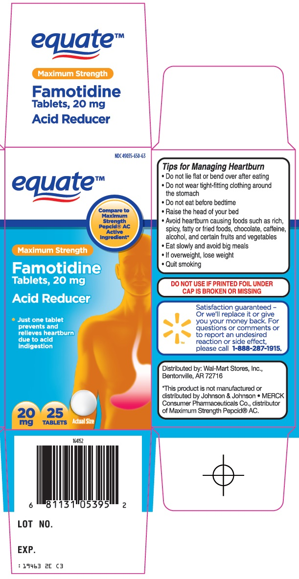 Equate Famotidine Image 1