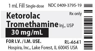 PRINCIPAL DISPLAY PANEL - 30 mg/mL Vial Label