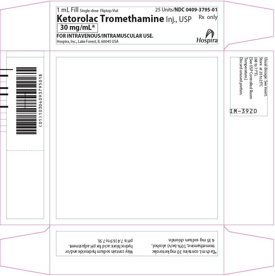 PRINCIPAL DISPLAY PANEL - 30 mg/mL Vial Tray