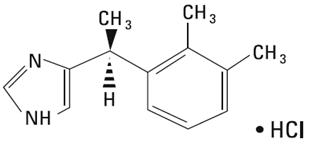 Dexmedetomidine Hydrochloride Chemical Stucture