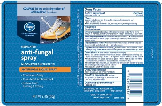 Kroger Antifungal Miconazole Continous Spray_APMCSLK-1