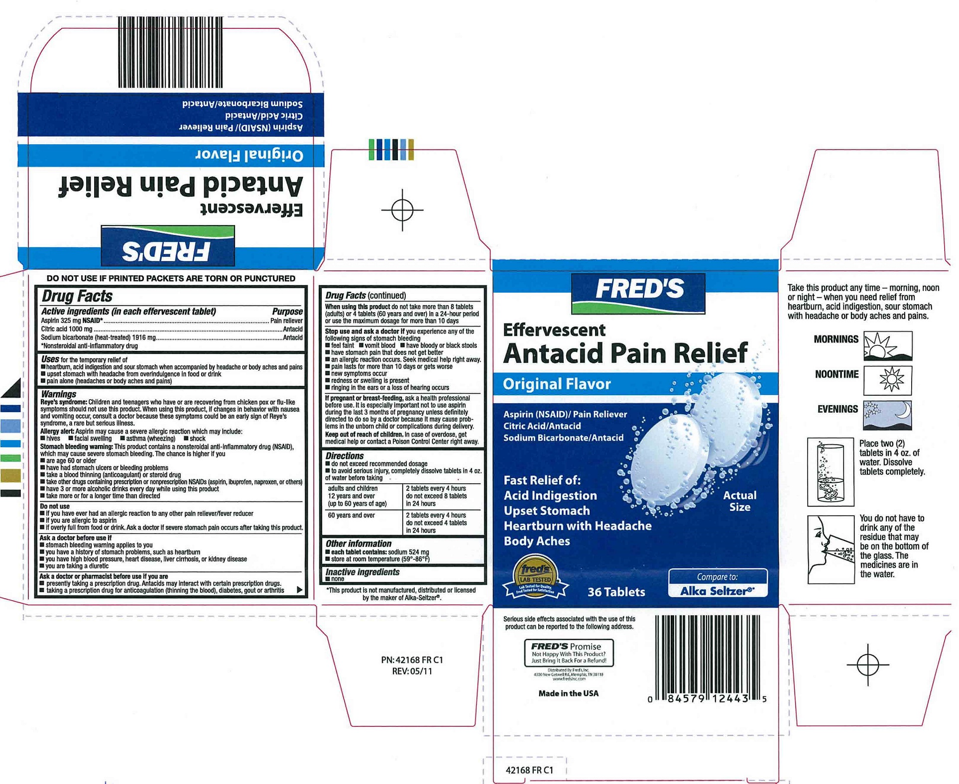 Freds Pain 36ct