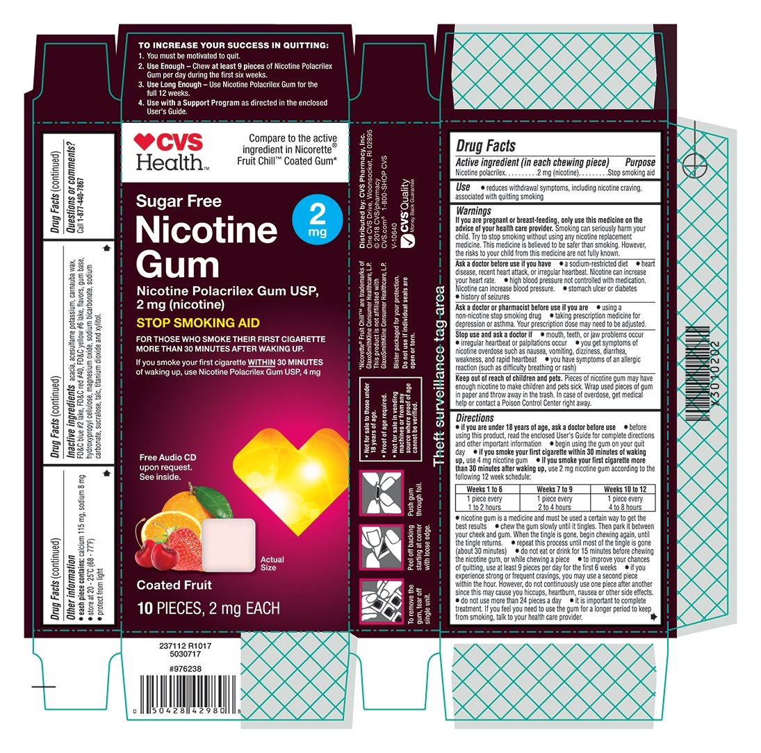 2 mg coated fruit 10 count