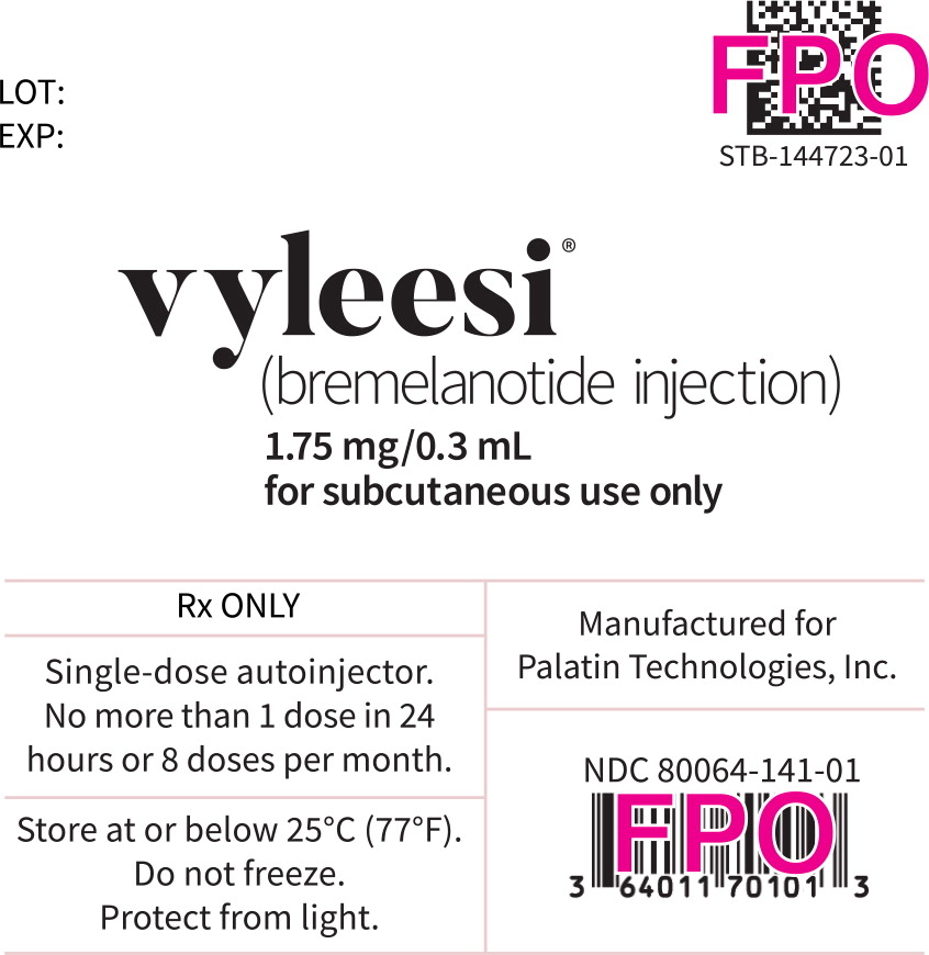 Principal Display Panel – Syringe Label