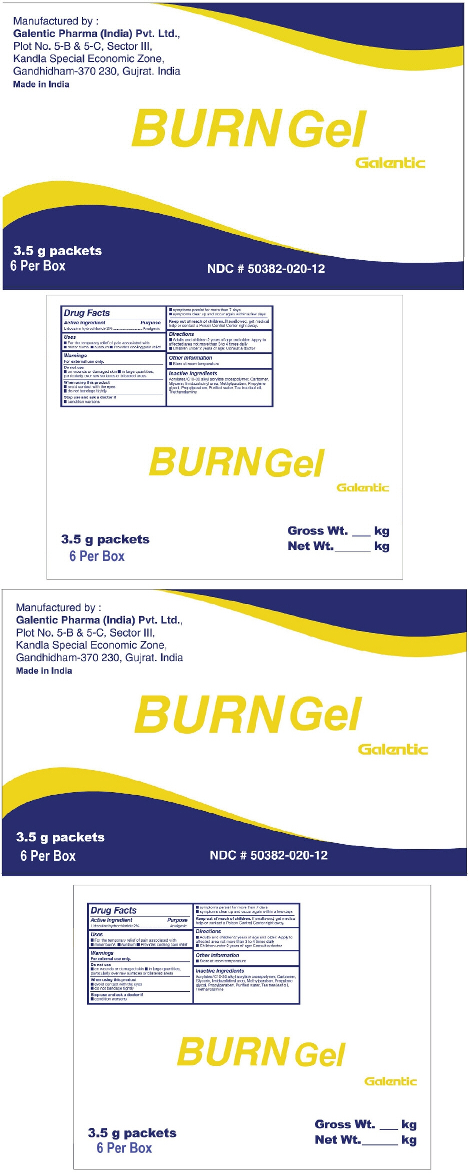 PRINCIPAL DISPLAY PANEL - 3.5 g Packet Carton