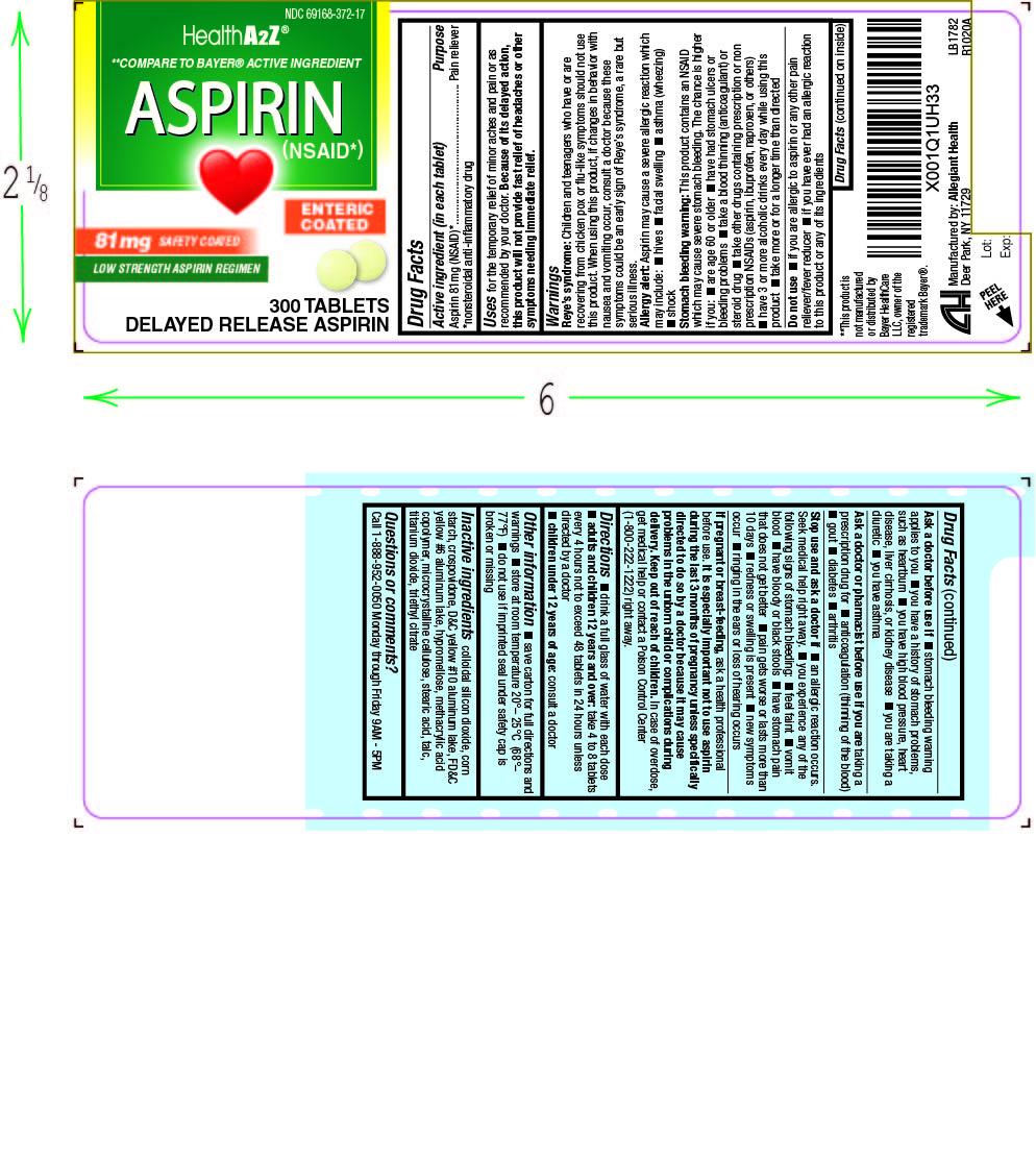 Aspirin 81mg (372)