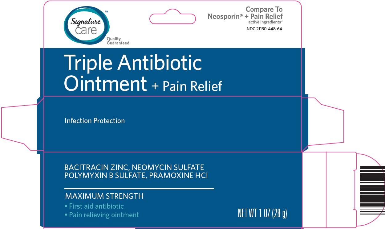Signature Care Triple Antibiotic Ointment image 1