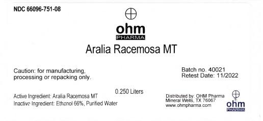 0.250 Liters Bottle Label
