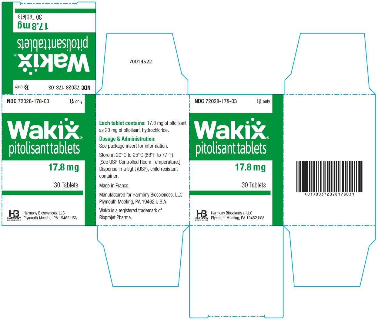 17.8 mg Carton Label
