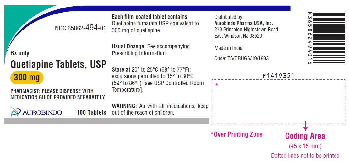 PACKAGE LABEL-PRINCIPAL DISPLAY PANEL - 300 mg (100 Tablets Bottle)