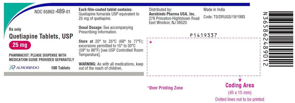 PACKAGE LABEL-PRINCIPAL DISPLAY PANEL - 25 mg (100 Tablets Bottle)