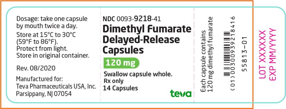 Principal Display Panel – 120 mg Bottle Label