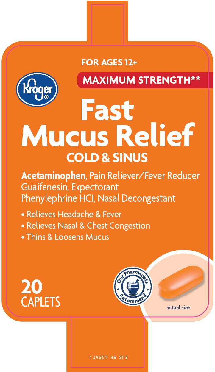 Kroger Fast Mucus Relief Image 1