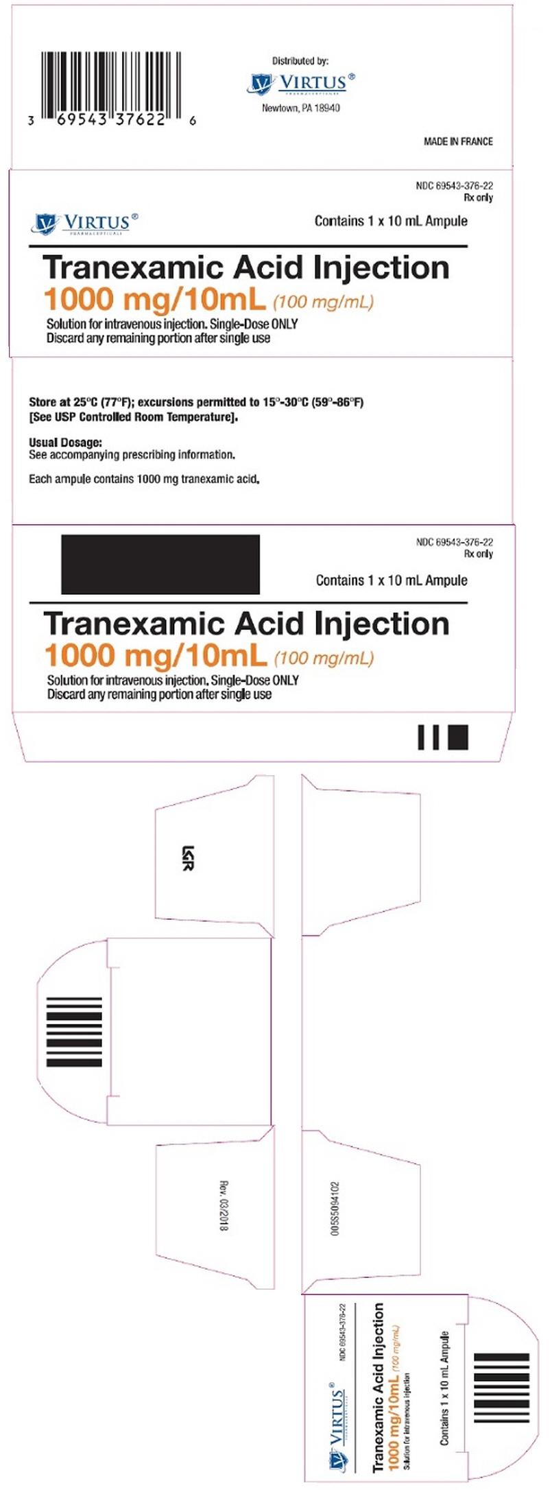 PRINCIPAL DISPLAY PANEL - 10 mL Ampule Carton