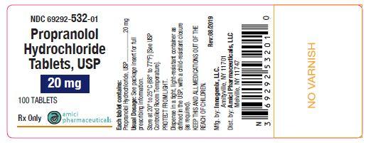 Propranolol-20mg-100ct