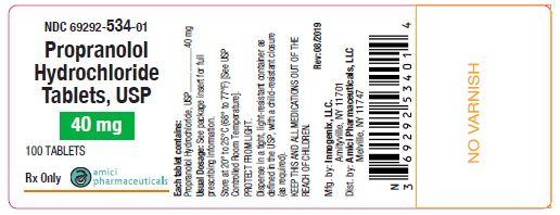 Propranolol-40mg-100ct