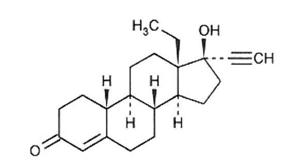 Description: Levonorgestrel Structure